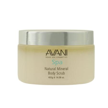 Avani Dead Sea Cosmetics Body Scrub Natural, 14.08
