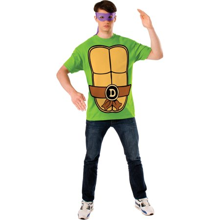 Teenage Mutant Ninja Turtles Donatello Mens T-shirt Mask Costume](Tmnt Donatello Costume)