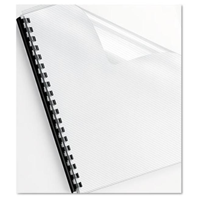 Futura Presentation Binding System Covers 8 1 2 x 11 Frost 25 per Pack by Tangletown Fine Art