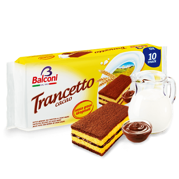 Trancetto Snack with Cocoa Filling, 10pk 280g by