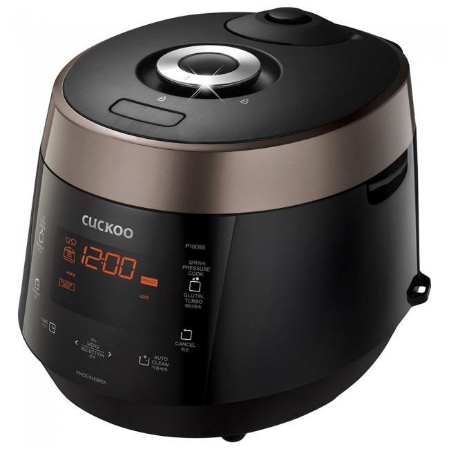 Cuckoo Electric Heating Pressure Rice Cooker CRP-P1009SB
