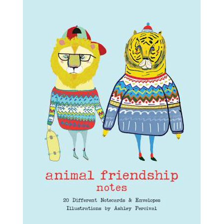 Friendship Note (Animal Friendship Notes : 20 Different Notecards & Envelopes)