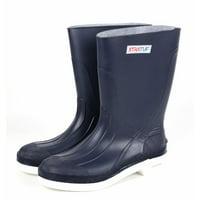 "Xtratuf Men's 11"" Navy Shrimp Boots w/ Chevron Outsole & Heel - Size 10"