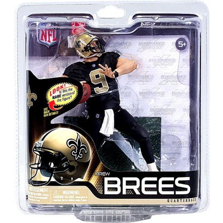 Mcfarlane Nfl Sports Picks Series 31 Drew Brees Action Figure  Black Jersey