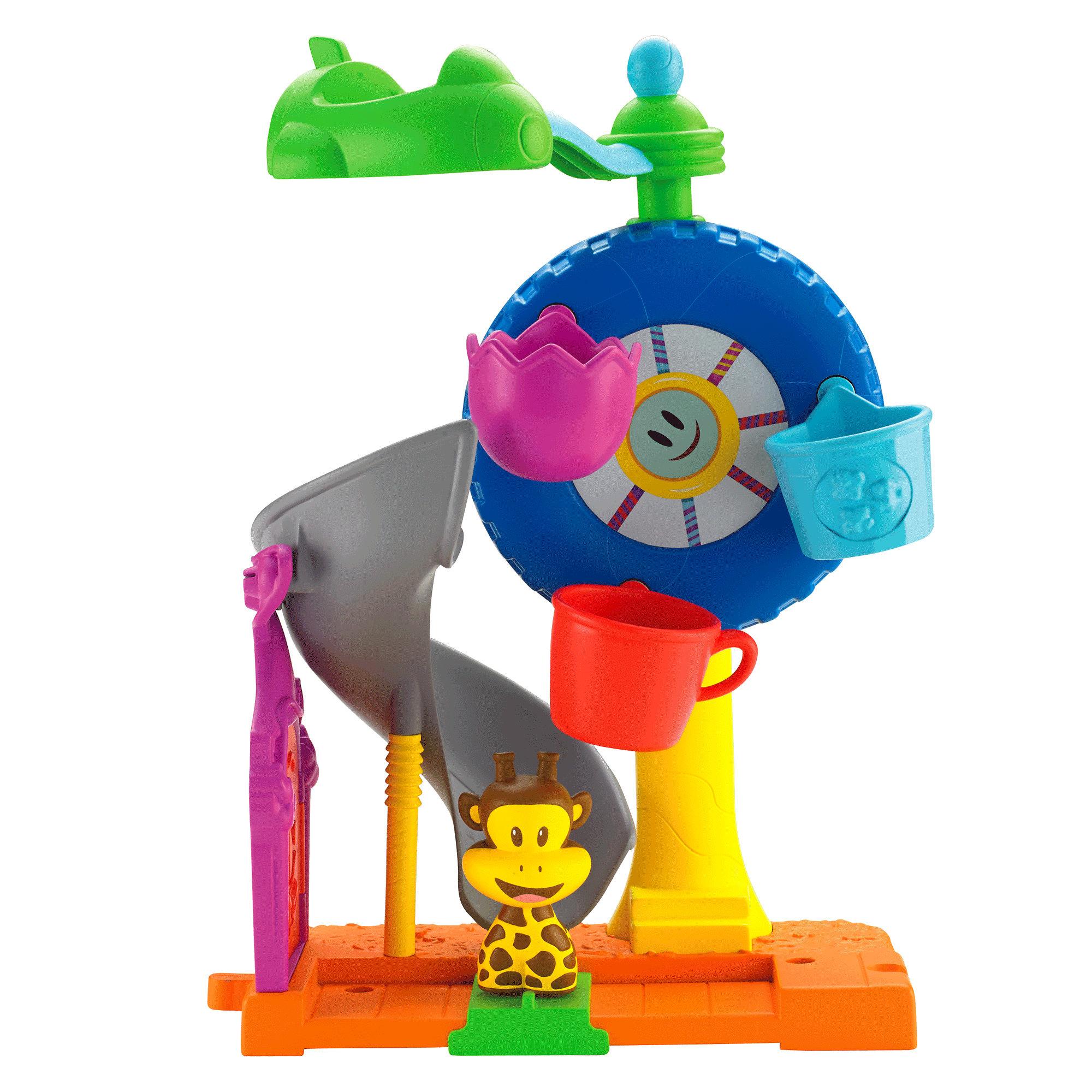 Fisher-Price Julius Jr. Twirl-A-World Amusement Park