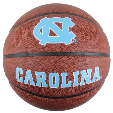 North Carolina College Basketball - North Carolina Tar Heels Men's Composite Leather Indoor/Outdoor Basketball