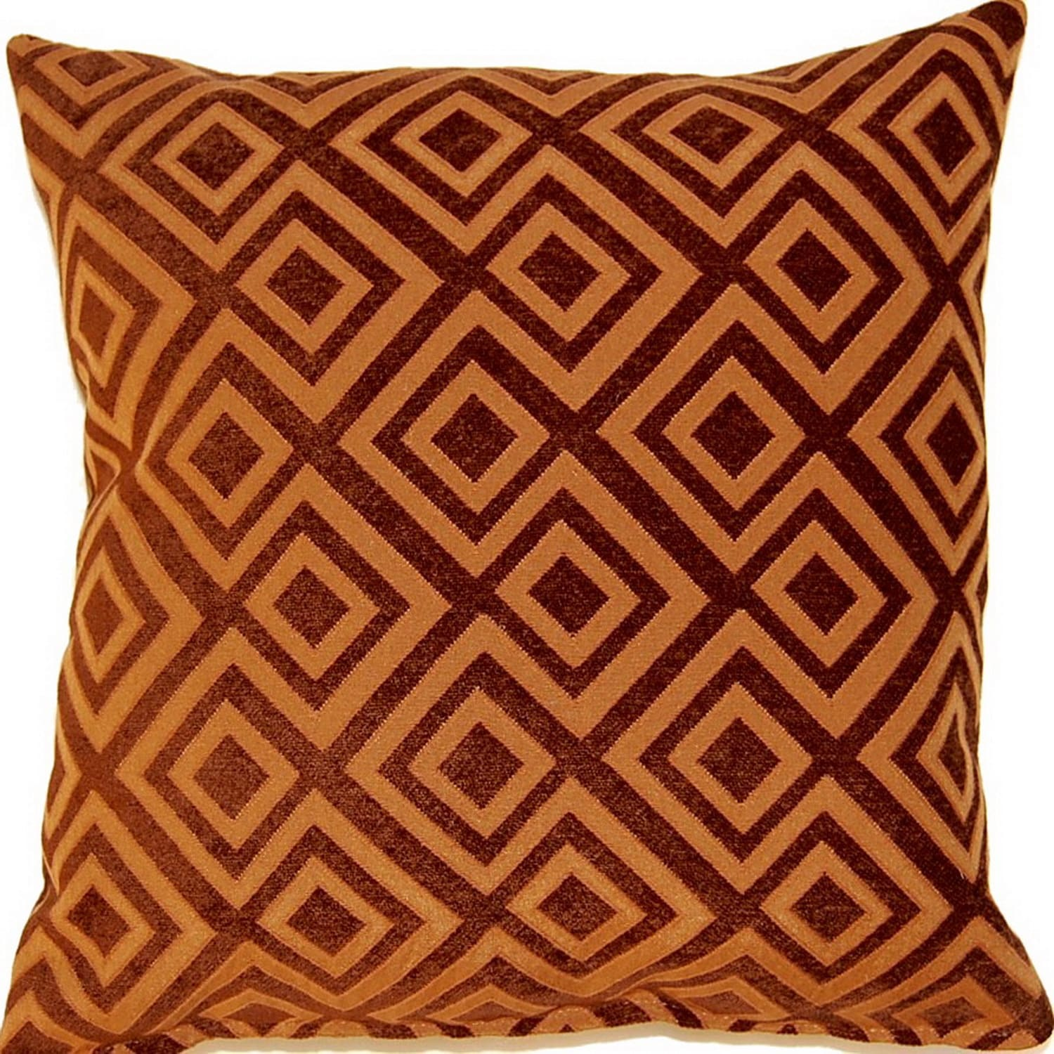 Fox Hill Trading Kira Pumpkin 17-inch Throw Pillows (Set of 2)