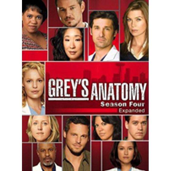 Greys Anatomy Season 4 Expanded Dvd Walmart