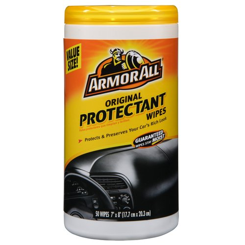 Armor All Protectant Wipes, 50pk