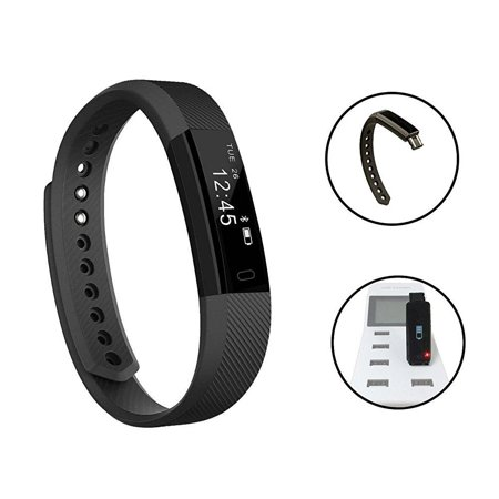 Fitness Tracker Luluking Smart Watch With Sleep Monitor Bluetooth Wristband Bracelet Sport Pedometer