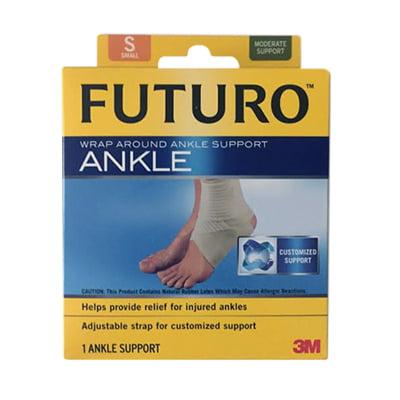 Futuro Ankle Around Support Wrap, Model No : 47874, Small - 1 Ea