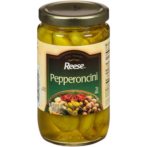 Reese Pepperoncini, 11.5 fl oz, (Pack of 12)