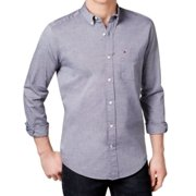 Tommy Hilfiger NEW Blue Mens Size Small S Capote Button Down Twill Shirt