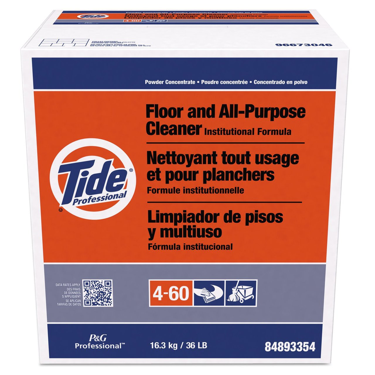 Tide PGC 02364 Floor and All-Purpose Cleaner, 36 lb. Box