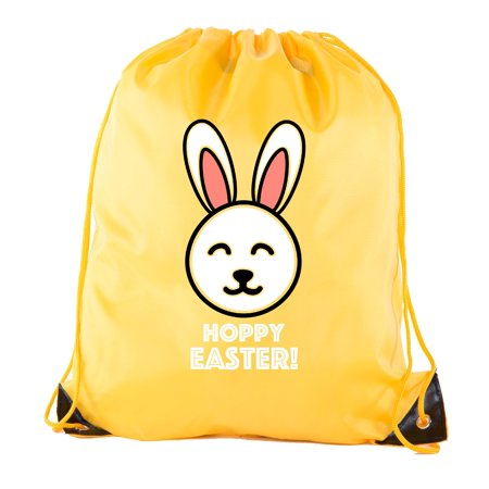 Easter Basket Bags, Bulk Drawstring Backpacks, Party Favor Goody Bags for Easter - Hoppy Easter](Halloween Goody Bags For Kindergarten)