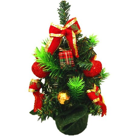Christams Decorations Colorful Miniature Pine Christmas Tree 20CM Tall](Colorful Christmas Tree)