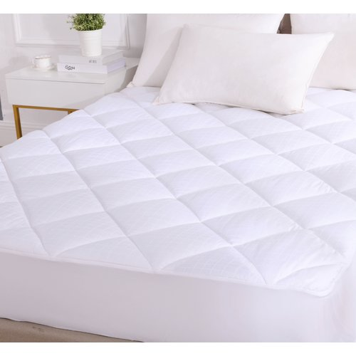 Alwyn Home Eliora Cotton Down Alternative Mattress Pad