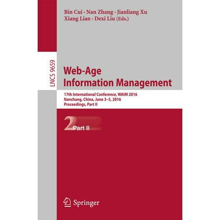 Web-Age Information Management - eBook