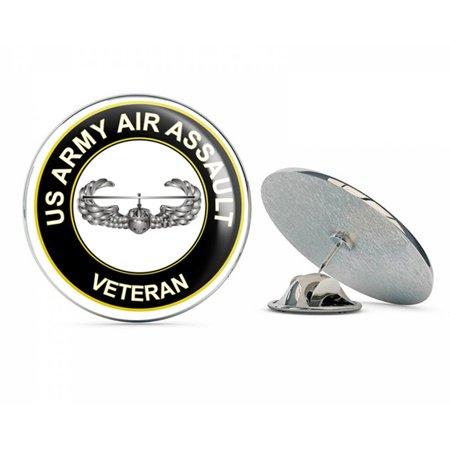 U.S. Army Air Assault Veteran Metal 0.75