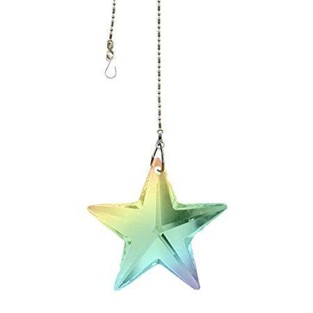 Crystal Prism Sun Catcher Swarovski Strass Star Hanging Crystal (Colors Available) - Sun Catcher