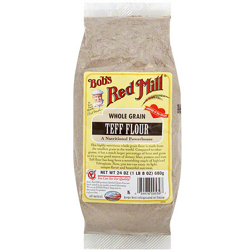 Bob's Red Mill Whole Grain Teff Flour, 24 oz (Pack of 4)