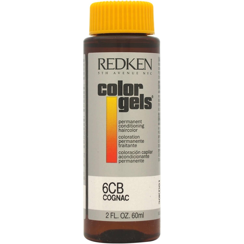 Redken Color Gels Permanent Conditioning Haircolor 6cb Cognac 2