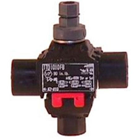 Morris Products 96110 Above Ground Insulation Piercing Connectors Main 1- 0-8 Tap 1- 0-8 - image 1 of 1