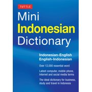 Tuttle Mini Indonesian Dictionary : Indonesian-English / English-Indonesian