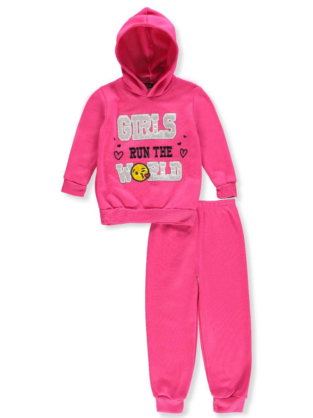 Angel Face Girls' 2-Piece Sweatsuit Pants Set