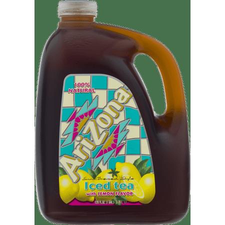 5 Gallon Iced Tea - (2 Bottles) Arizona Iced Tea, Lemon, 1 Gallon