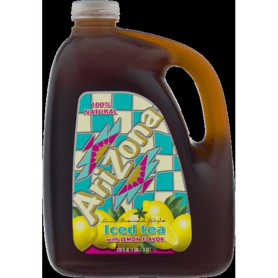 Arizona Iced Tea Lemon 1 Gallon 1 Count Walmart