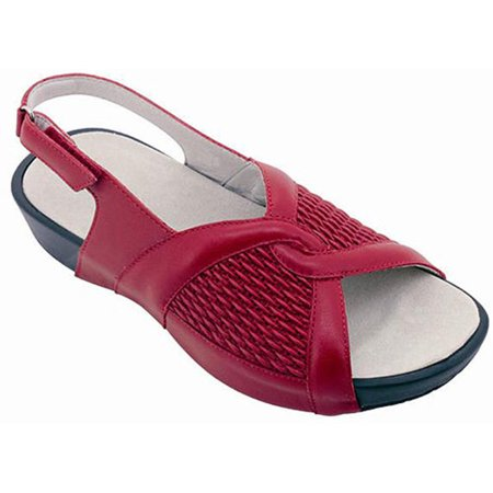 c9d8d8be32 Propet - Propet Madeline - Removable Insole Sandals - Women's - Chili Red -  Walmart.com