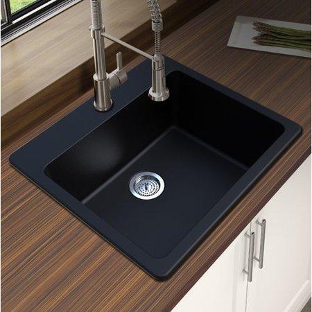 Kitchen Sink 25 X 22 Winpro granite quartz 25 x 22 single bowl drop in kitchen sink winpro granite quartz 25 x 22 single bowl drop in kitchen workwithnaturefo