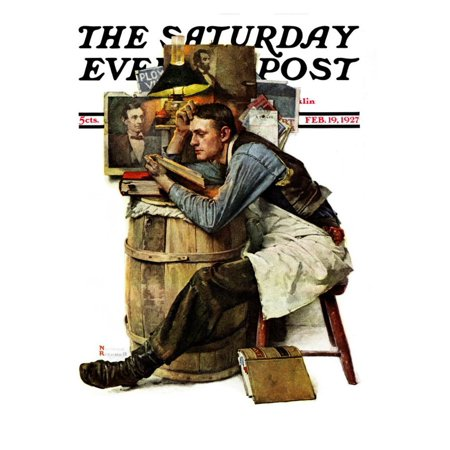 Saturday Evening Post Cover (Law Student