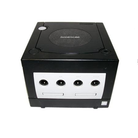 Refurbished Nintendo GameCube Console Jet Black (Gamecube Arcade Games)