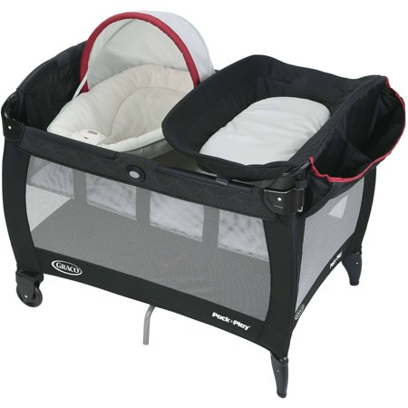 graco pack 39 n play playard with newborn napper lite weave. Black Bedroom Furniture Sets. Home Design Ideas
