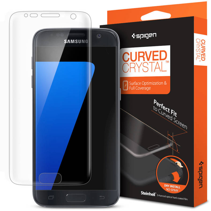 Spigen Curved Crystal Screen Protector for Samsung Galaxy S7