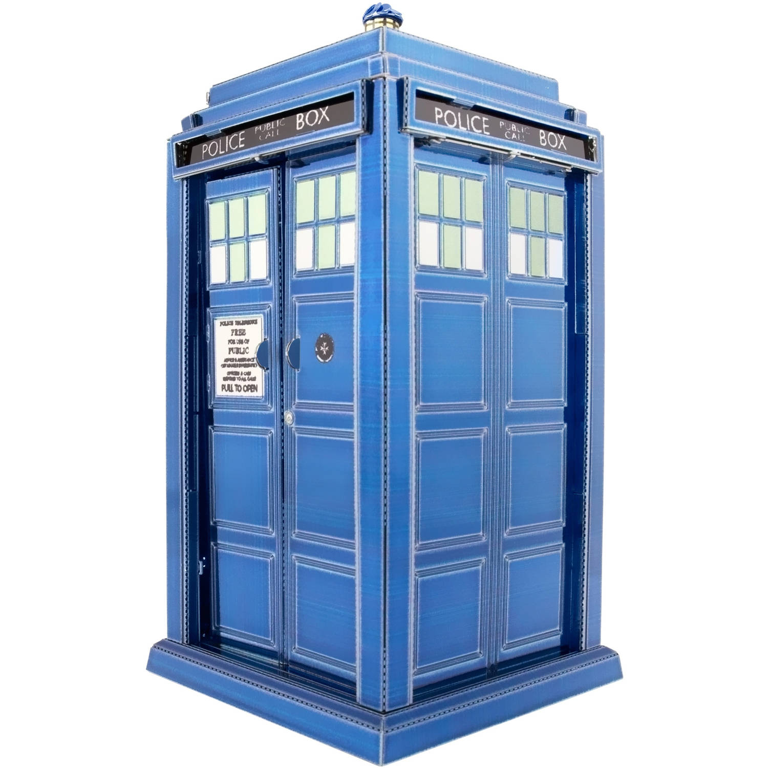 Metal Earth 3D Laser-Cut Model, Doctor Who Tardis