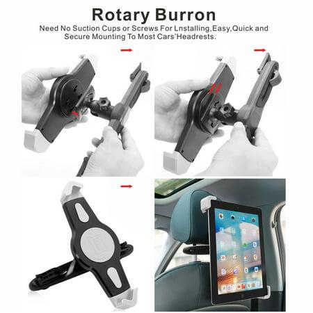 Tablet Car Rear Seat Universal Ipad Bracket Lazy Bracket Car Rear Pillow Stand Car Phone Holder - image 3 of 8