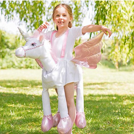Ride On Unicorn Childrens Costume Standard - Childrens Place Costumes