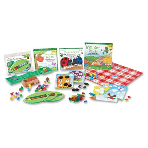 Learning Resources Kid Learning Kit - Theme/subject: Learning - Skill Learning: Mathematics, Geometry, Measurement, Counting - 6 Pieces - 5+ (ler1765)