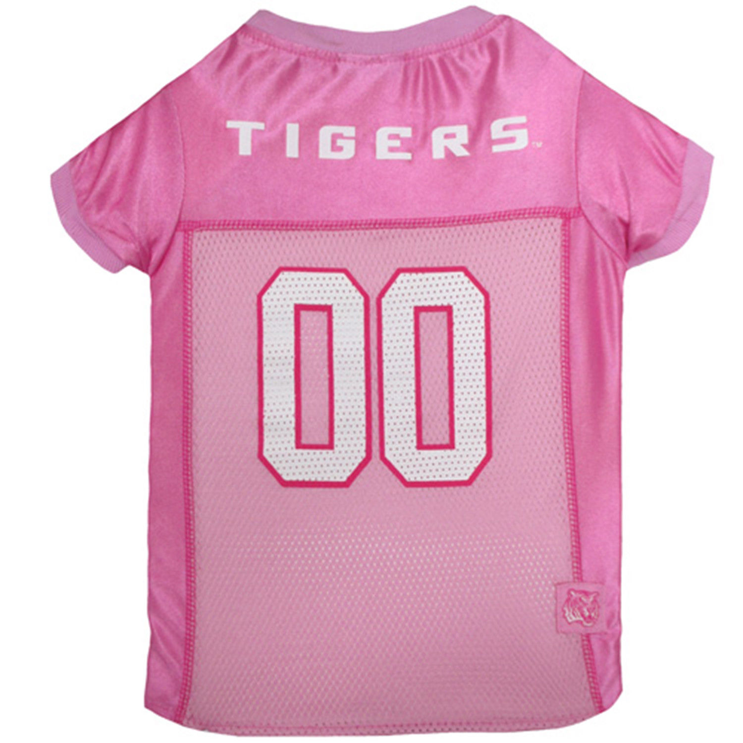 Big Dog Littlearth NCAA LSU Tigers Pet JerseyJersey Stretch Team Color