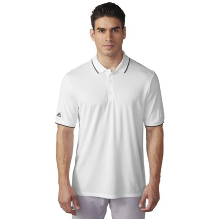 Adidas Golf ClimaCool Tipped Club Polo - Closeout - Below Cost Closeouts