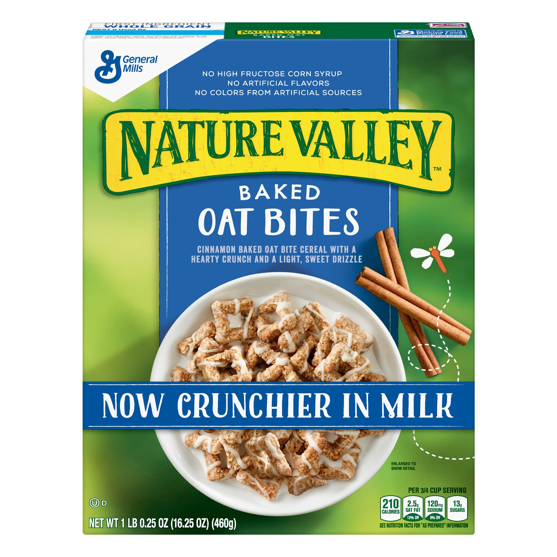 Nature Valley Cereal, Baked Oat Bites, 16.25 oz