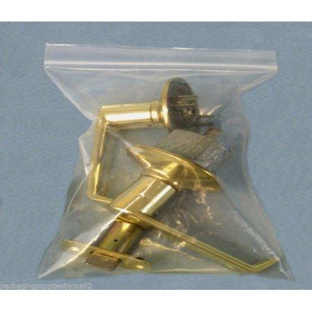 200 Pcs Reclosable Plastic Zipper Bags 2 Mil, Clear, 3 inch x 3 inch
