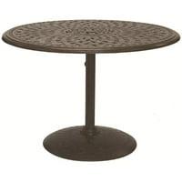 "Darlee 42"" Round Patio Pedestal Bistro Table"