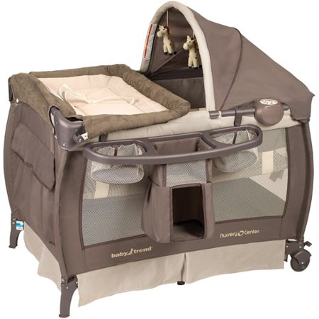 Baby Trend Deluxe Nursery Center Playard  Hudson