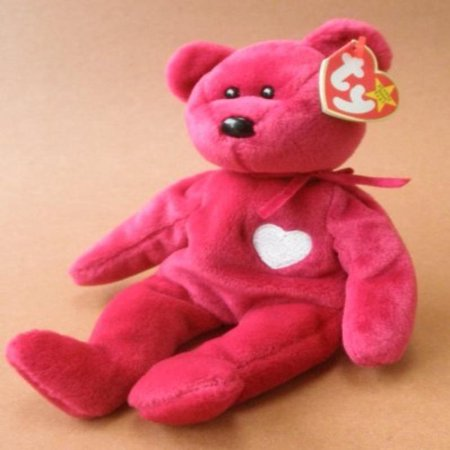 TY Beanie Babies Valentina Bear Plush Toy Stuffed (Ty Stuffed Bears)