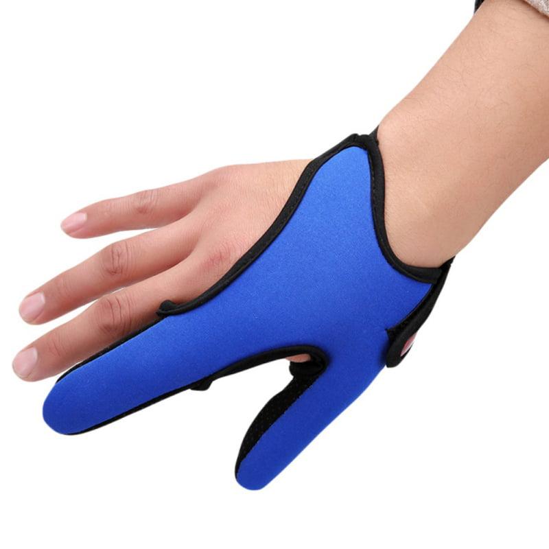 4x Single-finger Fishing Glove One Finger Stall Shield for Surf Fishing