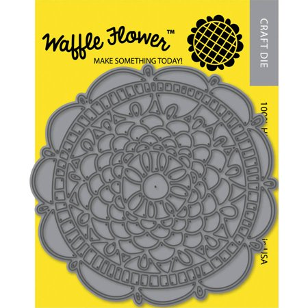 Waffle Flower Die, Doily Circle